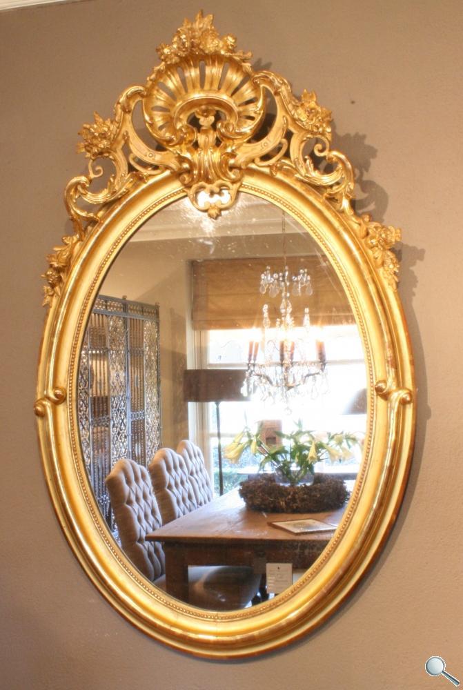 antike-franz-sische-ovale-spiegel